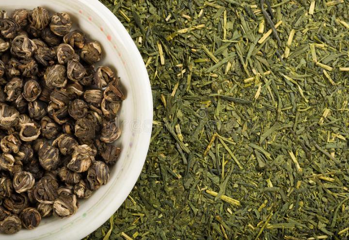 green-tea-set-traditional-matcha-jasmine-balls-35356528.jpg